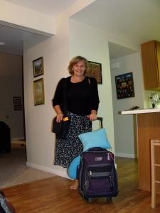 I loved packing light!