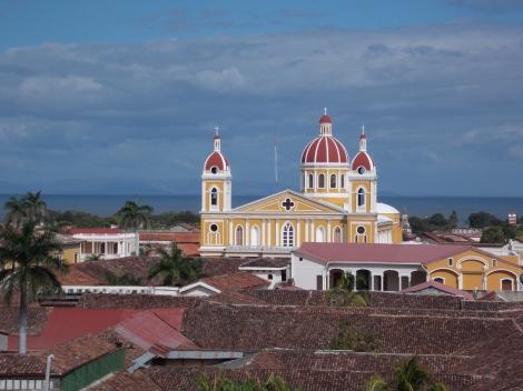 The iconic Granada, Nicaragua scene