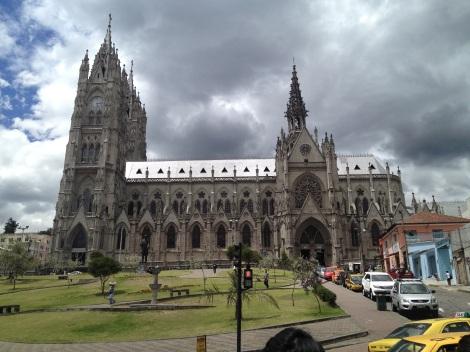 La Basilica del Voto Nacional