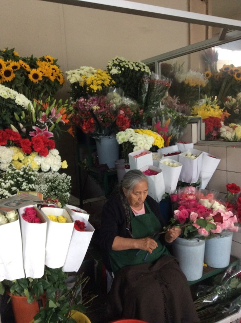 Ecuador exports flowers