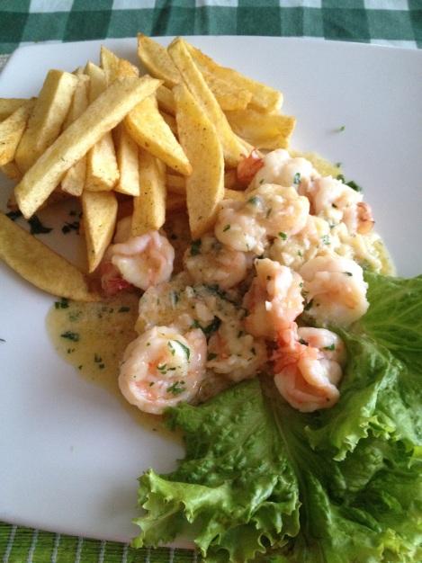 The freshest shrimp!
