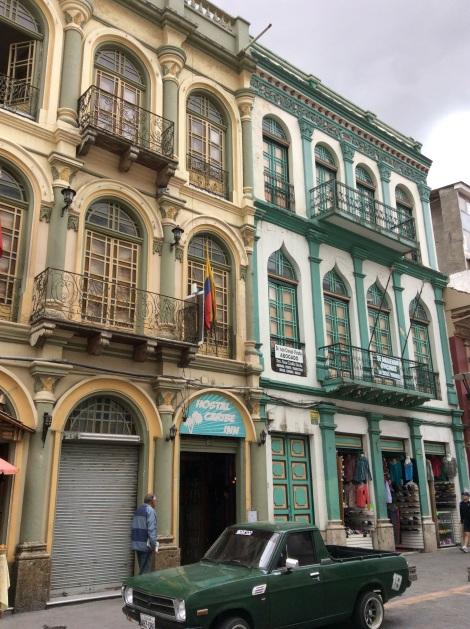 Beautiful colonial buildings