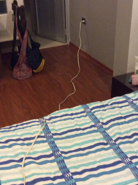 My extension cord came to the rescue!